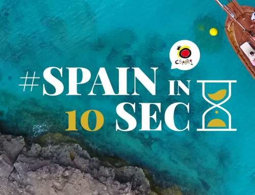 Web para campaña Spain in 10 seconds